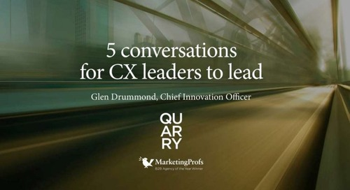 5 Conversations for CX Leaders to Lead