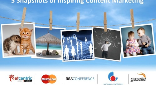 5 Snapshots of Inspiring Content Marketing