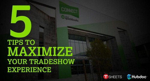 5 Tips to Maximize Your Tradeshow Experience — Just in Time for QuickBooks Connect