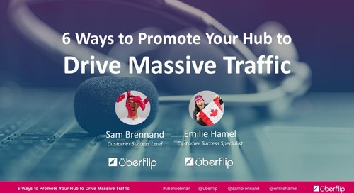 6 Ways to Promote Your Hub to Drive Massive Traffic