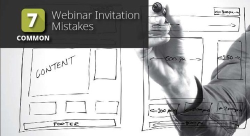 7 Common Webinar Invitation Mistakes