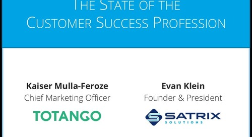 The State of the Customer Success Profession