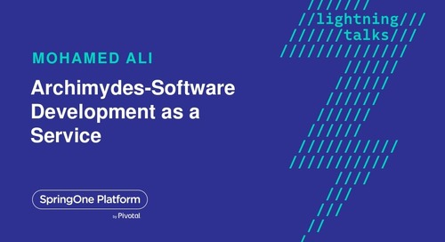 Archimydes - Software Development as a Service