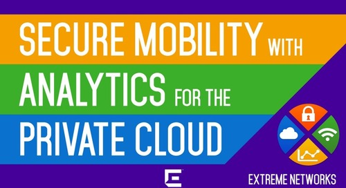 Secure Mobility with Analytics for the Private Cloud