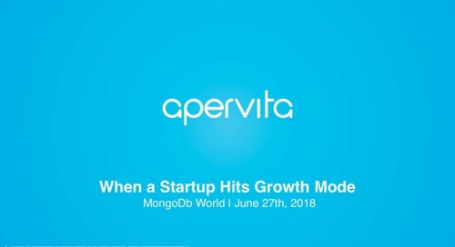 """When a Startup Hits Growth Mode: Scaling from 200GB to 20TB! """