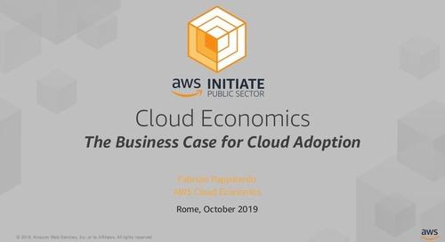 Cloud Economics: il Business Case per la Cloud Migration