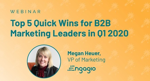Top 5 Quick Wins for B2B Marketing Leaders in Q1 2020
