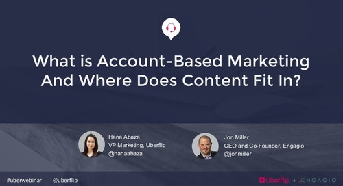 What is Account-Based Marketing and Where Does Content Fit In?