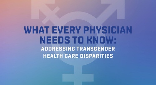 Addressing transgender health care disparities