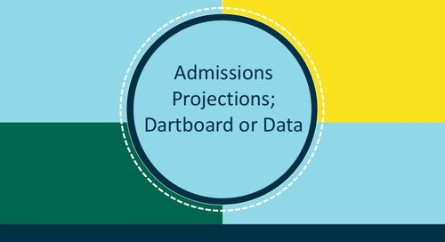 Admission Projections: Dartboard or Data?