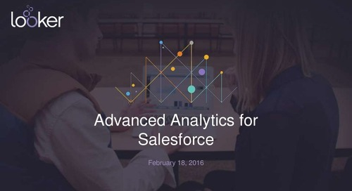 Advanced Analytics for Salesforce