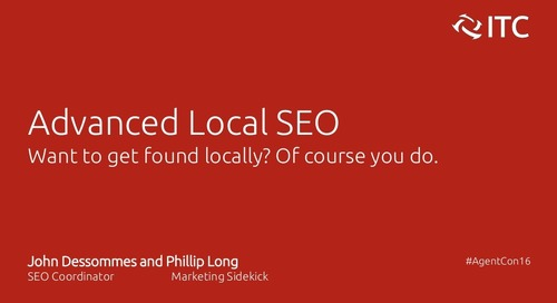 Advanced Local SEO - John Dessommes & Phillip Long