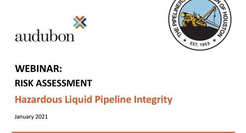 Risk Assessment Hazardous Liquid Pipeline Integrity