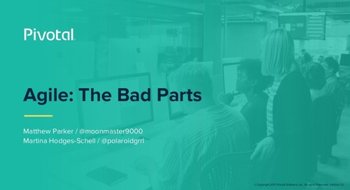 Agile: The Bad Parts