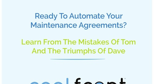 Automating Maintenance Agreements