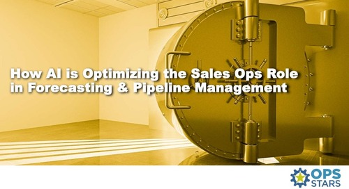 How AI is Optimizing the Sales Ops Role in Forecasting and Pipeline Management
