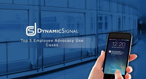Top 5 Employee Advocacy Use Cases