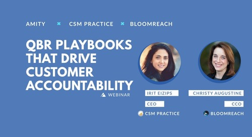 QBR Playbooks That Drive Customer Accountability Slides