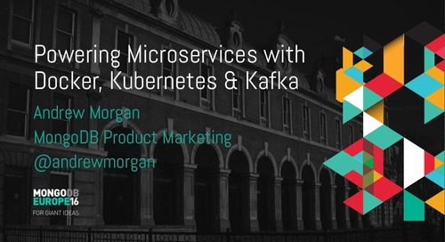 Powering Microservices with Docker, Kubernetes, and Kafka