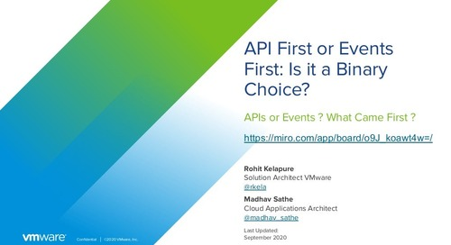 API First or Events First: Is it a Binary Choice?