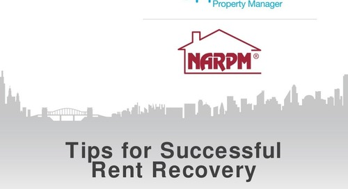 Tips for Successful Rent Recovery | Webinar with Robert Locke (Property Management Industry)