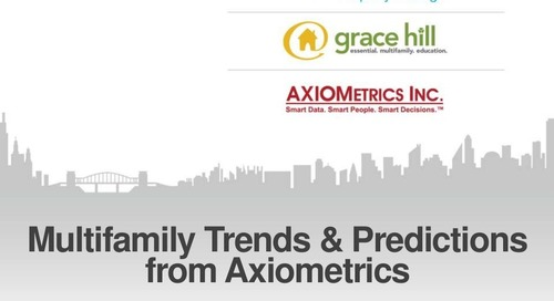 Multifamily Trends & Predictions from Axiometrics