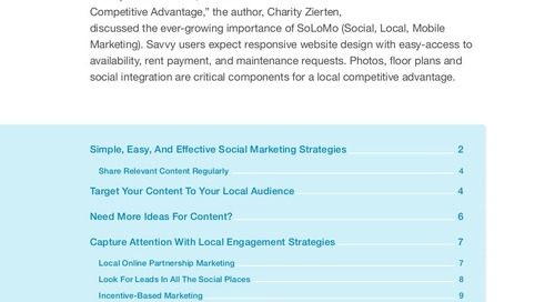 Local Social Media Is Your Competitive Advantage: Part Two [Ebook]
