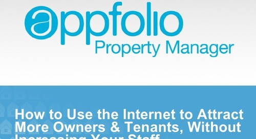 AppFolio Internet Marketing Best Practices Presentation for MMHA