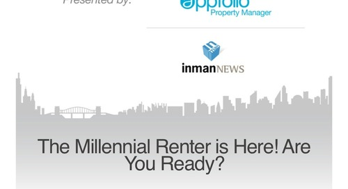The Millennial Renter is Here! Are You Ready? (Property Management Industry)