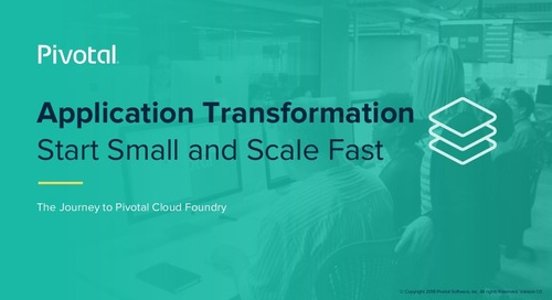 Application Transformation Workshop