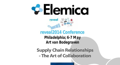 "reveal2014 Art van Bodegraven, VBA – ""The Art of Collaboration"""