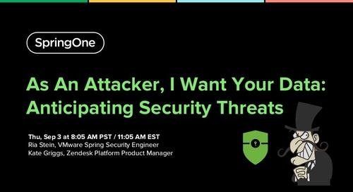 As an Attacker, I Want Your Data: Anticipating Security Threats
