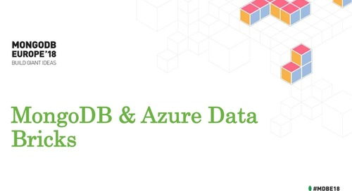 MongoDB and Azure Data Bricks - Microsoft