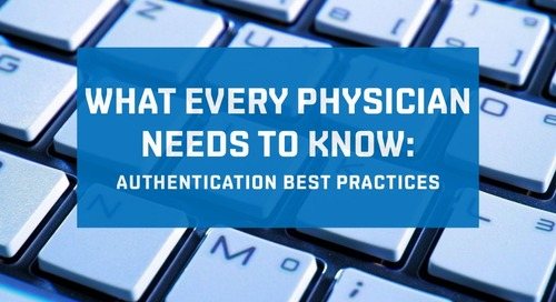 Authentication Best Practices