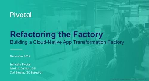 Refactoring the Factory: Building a Cloud-Native App Transformation Factory