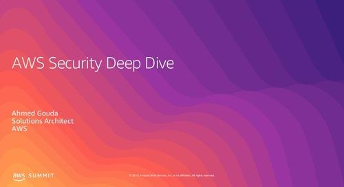 AWS Security Deep Dive