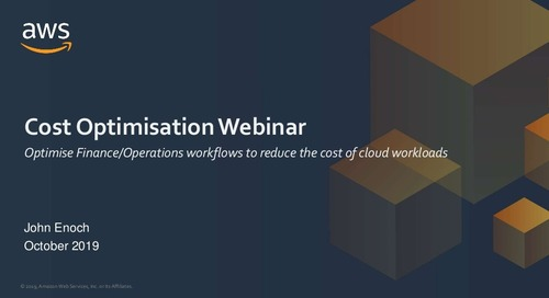 Introduction to Cloud Economics for the UK Public Sector