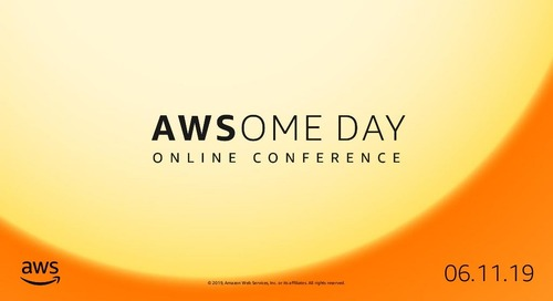 Module 1: Introduction to the AWS Cloud - AWSome Day Online Conference 2019