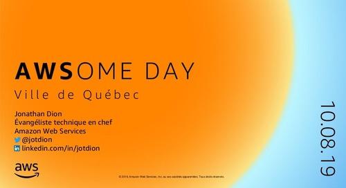 AWSome Day à Québec - 2019