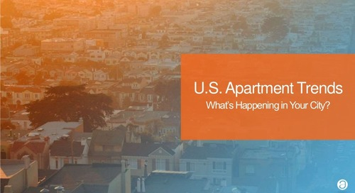 AppFolio & Axiometrics U.S. Apartment Growth Trends Report