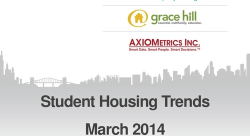 Student Housing Trends: What's Hot in 2014 | Webinar with Jay Denton (Property Management Industry)