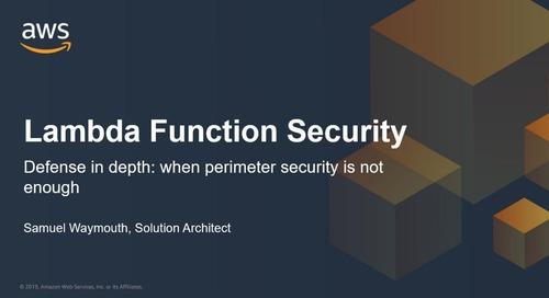 Lambda Function Security