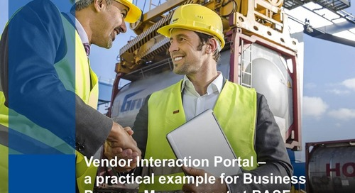 "Ralf Kahre & Patrick Gött, BASF – ""End-to-End Business Process Management"""