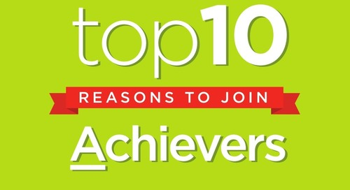 Top 10 Reasons to Join Achievers