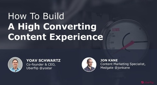 How to Build a High Converting Content Experience