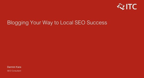 Blogging Your Way to Local SEO Success