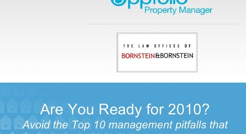 Top 10 Property Management Pitfalls