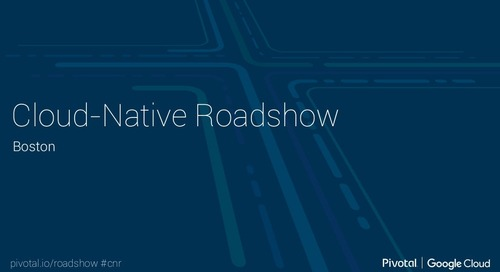 Cloud-Native Landscape: Cloud-Native Roadshow (Boston)