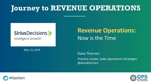 [Keynote] Emergence of Revenue Ops
