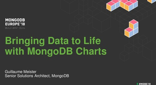Bringing Data to Life with MongoDB Charts - Guillaume Meister